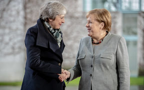 Theresa May is aiming to rescue her Brexit deal and is meeting with European leaders and EU officials.