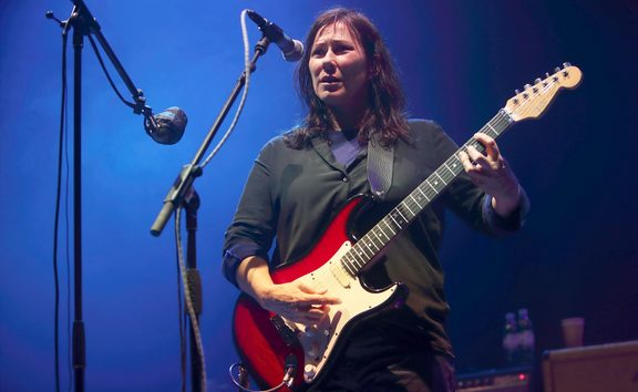Kim Deal of The Breeders performing at London's Roundhouse in May