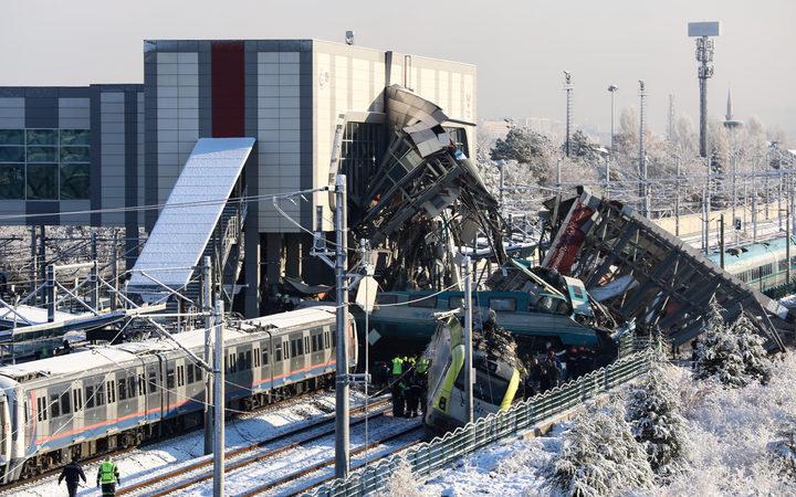 Turkey: Train crash in Ankara kills nine, injures 47