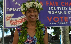Cook Islands Democratic Party leader, Tina Browne