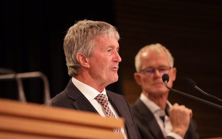 Biosecurity Minister Damien O'Connor at the post-cabinet briefing on 17 December 2018.