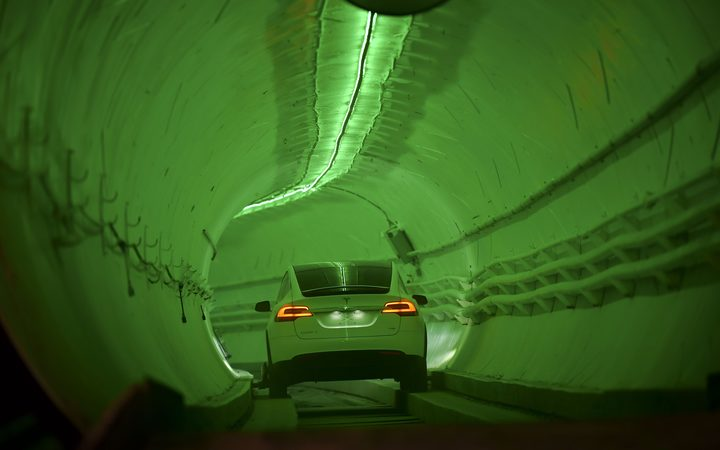 Elon Musk's The Boring Company Unveils 'Loop' Test Tunnel Under LA