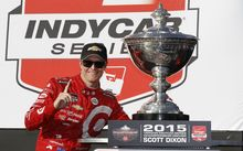 Scott Dixon wins 2015 Indycar title