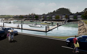 Artist's impression of what the Coromandel Marine Gateway could look like.