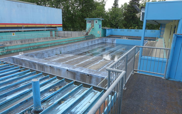 Hamilton's last public open-air pool hasn't yet been demolished but the council plans to do so next year.