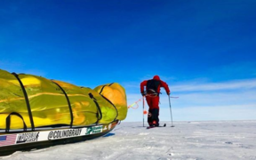 Colin O'Brady man has become the first person to cross Antarctica alone and unassisted.