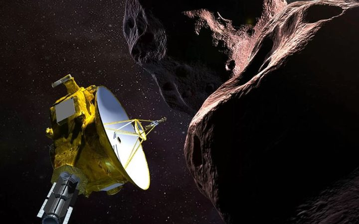 NASA probe close to the edge of the Solar system