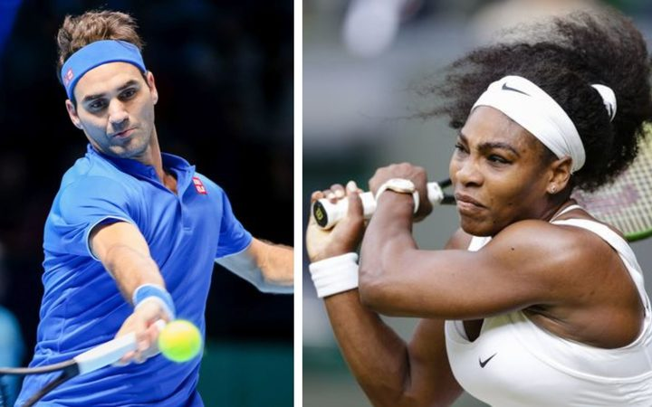 Federer pips Serena in historic cup clash