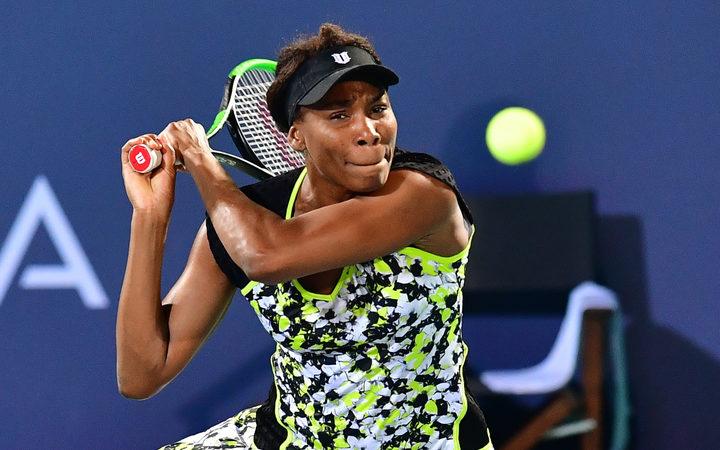 Venus Williams advances in Auckland WTA