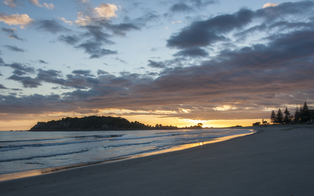 Sunrise at Mt Maunganui