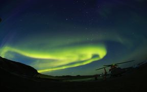 - BEIJING, March 5, 2017 (Xinhua) -- Photo taken on March 2, 2017 shows aurora australis in the sky over the Zhongshan Antarctic Station, a Chinese scientific research base in Antarctica.