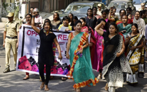 A group took to the streets in Hyderabad to protest the Bill following on from protests last month.
