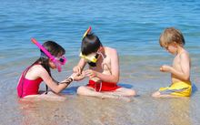 In 2014, six children under five drowned whilst unsupervised (file picture).