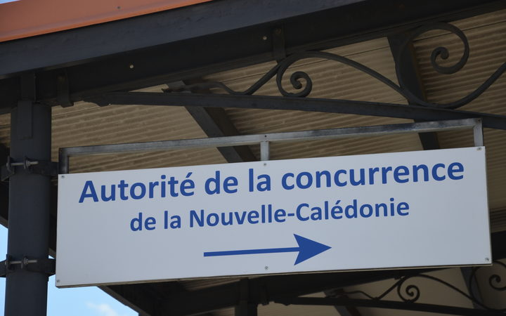New Caledonia autorire de la concurrence sign