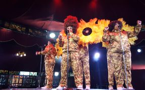 Hot Brown Honey will be one of the 50 acts performing at the World Buskers Festival in Christchurch.