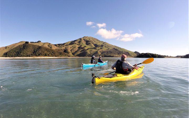 皮平岛皮划艇。
