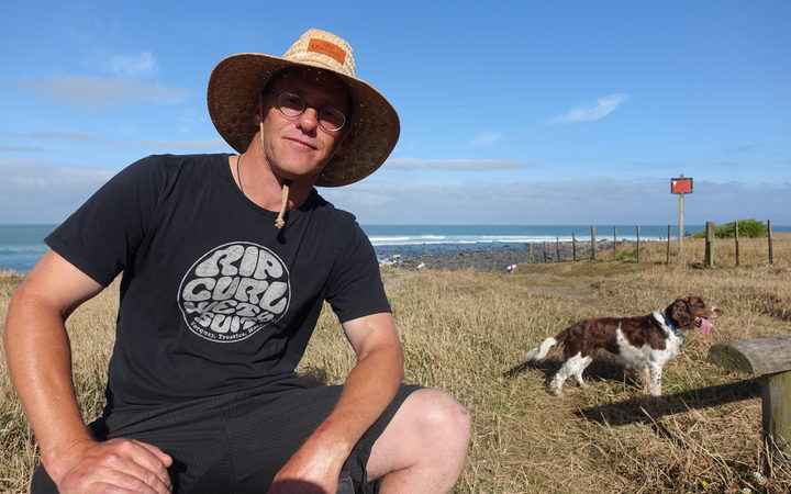 National Surfing Championship event director Chris Wilkes