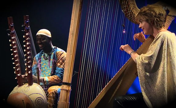 Seckou Keita and Catrin Finch