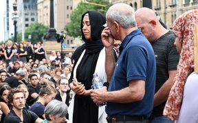 Hundreds of Australians gathered in Melbourne on the steps of Victorian state parliament for a silent vigil in memory of murdered Israeli student Aiia Maasarwe.