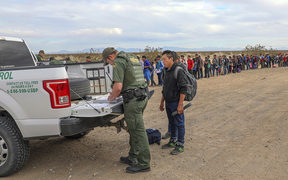 Border Patrol says it arrested 376 people in southwest Arizona, who attempted to cross the border in multiple spots. The large group was almost entirely from Guatemala.