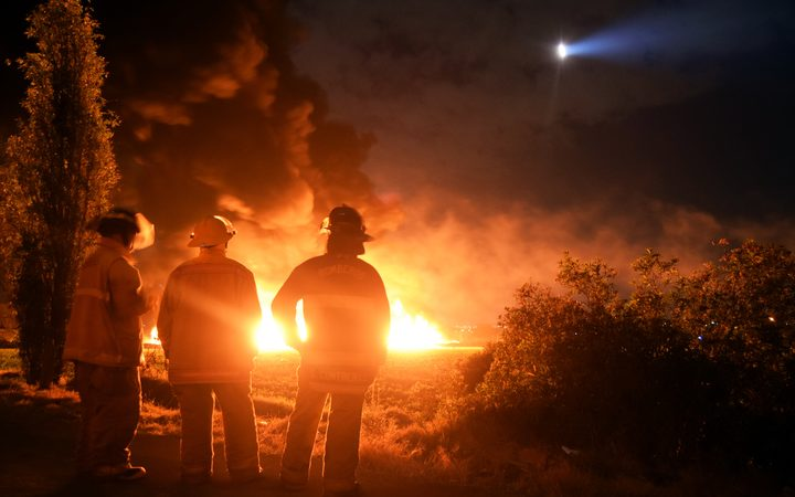 An explosion and fire has killed at least 66 people who were collecting fuel gushing from a leaking pipeline in central Mexico, the Hidalgo state governor said on Saturday.