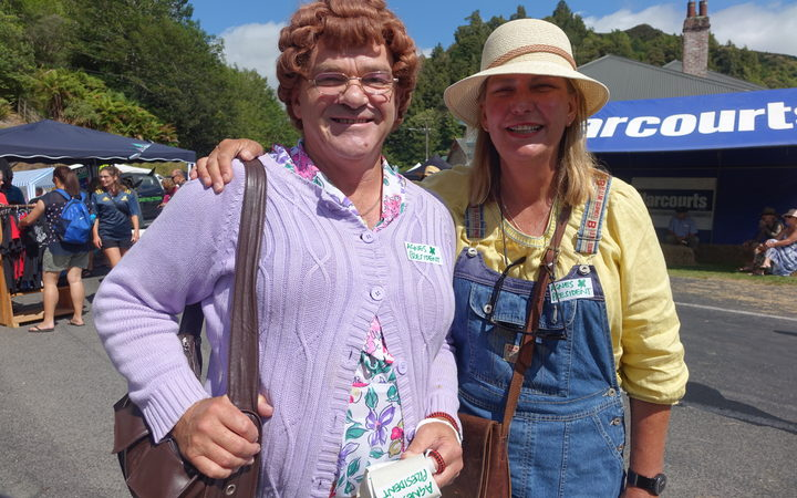 A Mrs Brown lookalike and admirer.