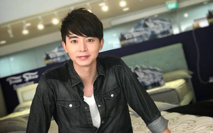 Singaporean actor Aloysius Pangtion was injured at the Waiouru Training Area.