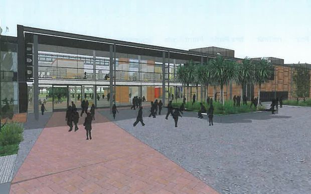 An artist's impression of how the school will look.