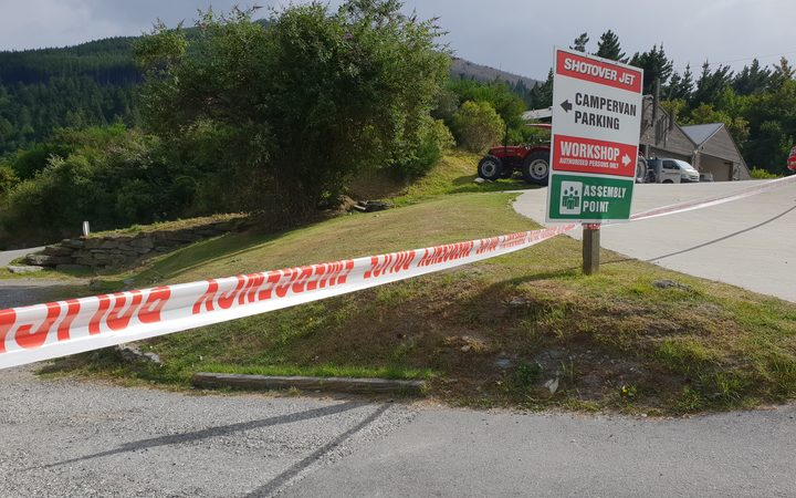 Shotover Jet remains closed today, as security barriers remained in place.