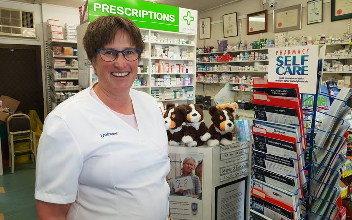 Kathy Maxwell from Unichem Hillpark Pharmacy  supports the area getting an official name.