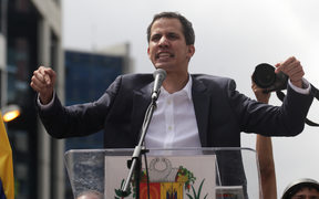 Leader of the National Assembly Juan Guaido has declared himself interim president of Venezuela, with the support of the United States.