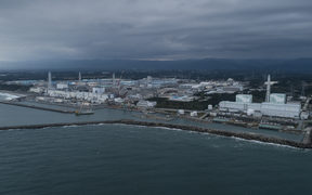 The Fukushima nuclear plant in Japan