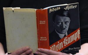 The original Mein Kampf book was written by Hitler when he was in prison in the mid 1920s.