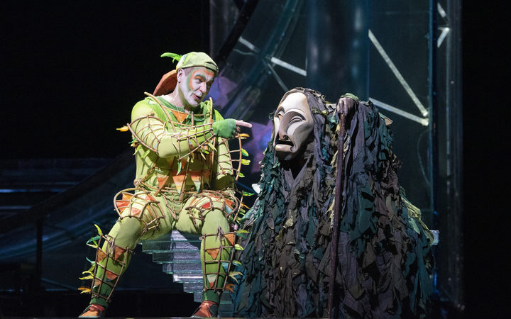 Papageno in The Magic Flute