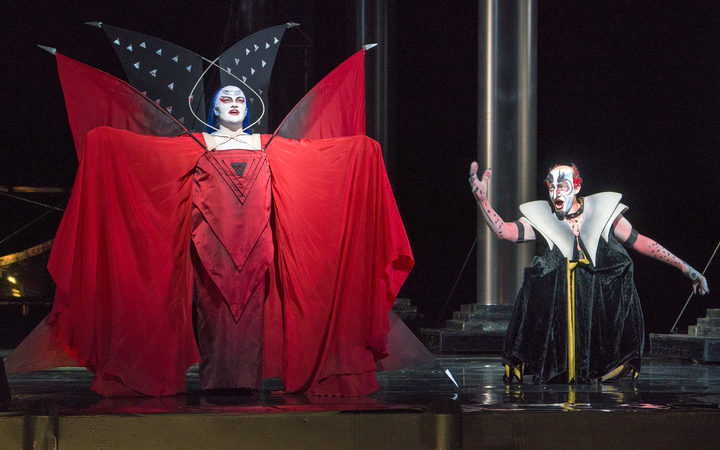 The Queen of the Night in The Magic Flute
