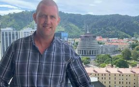 Blair Vining was diagnosed with bowel cancer late last October and will open a conference on cancer at Te Papa in Wellington today.