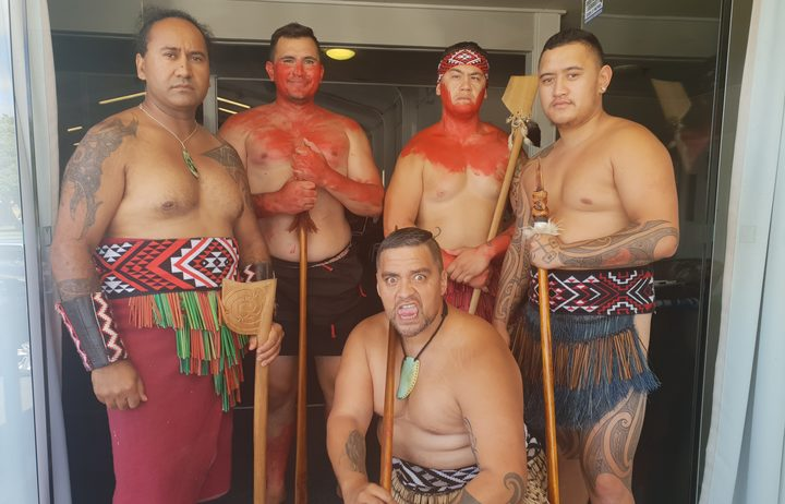 Te Tira Paraoa prepare to welcome Northland Mayoral Forum to Iwi Chairs Forum.