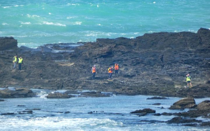 Rescue workers have spent days looking for the two fishermen missing off Slope Point.