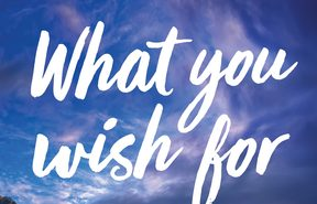 "cover of the book ""What You Wish For"" by Catherine Robertson"
