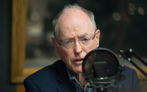 Don Brash speaking on The Panel at RNZ. 7 August 2018.