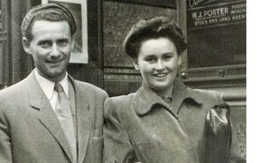 Lale Sokolov and Gita in Sydney after they survived  Auschwitz