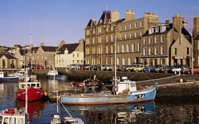 Kirkwall harbour, Mainland, Orkneys, Scotland, United Kingdom, Europe