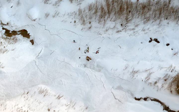 Eight people died in Italy as a result of weekend avalanches.