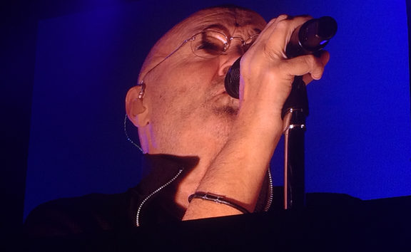 Phil Collins live at Christchurch Stadium