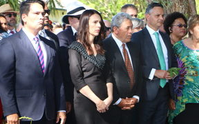 Political leaders welcomed at Waitangi