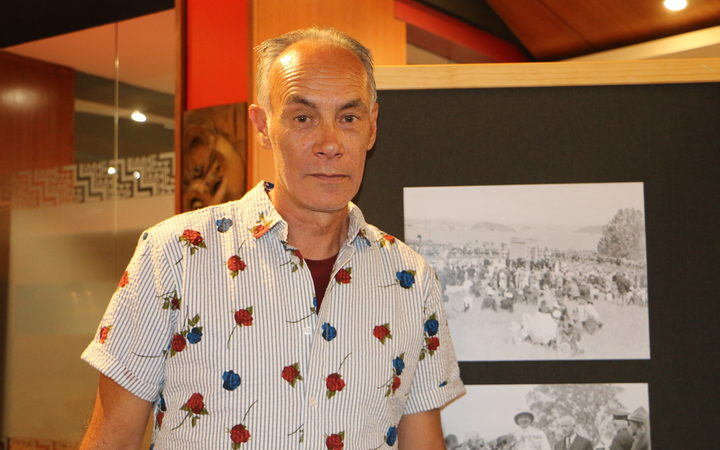 Robert Eruera, Auckland Council senior curator of heritage Māori.