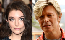 Lorde and David Bowie