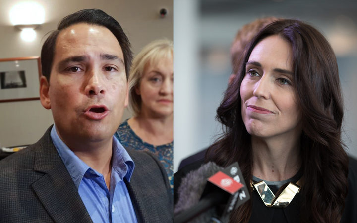 Simon Bridges (left) has told reporters that the government plans to abolish all Polytechnics and merge them into 4 regional hubs.