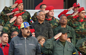 Venezuela's President Nicolas Maduro still has the loyalty of the military and its generals.