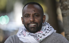 Ibrahim Omer is from Eritrea, East Africa, he is a refugee who moved to New Zealand in  2009.